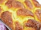 Рецепта Домашен пухкав козунак със стафиди, орехи и суха мая в хлебопекарна